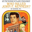 book cover for Lose Your Own Adventure novel Who Killed JFK? by Justin Newell