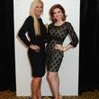 21 78 Theresa Roemer, left, and Yasmine Haddad at the Jonathan Blake fashion party April 2014