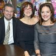 12 Erik and Peggy Carrington, from left, with Kim Rolland at Joyful Toyful December 2013
