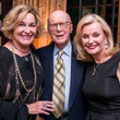 Barbara Hines, Gerald Hines, Pat Breen at Lynn Wyatt dinner for Brandon Maxwell