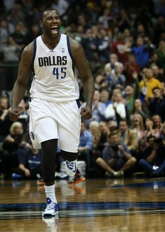 DeJuan Blair of the Dallas Mavericks