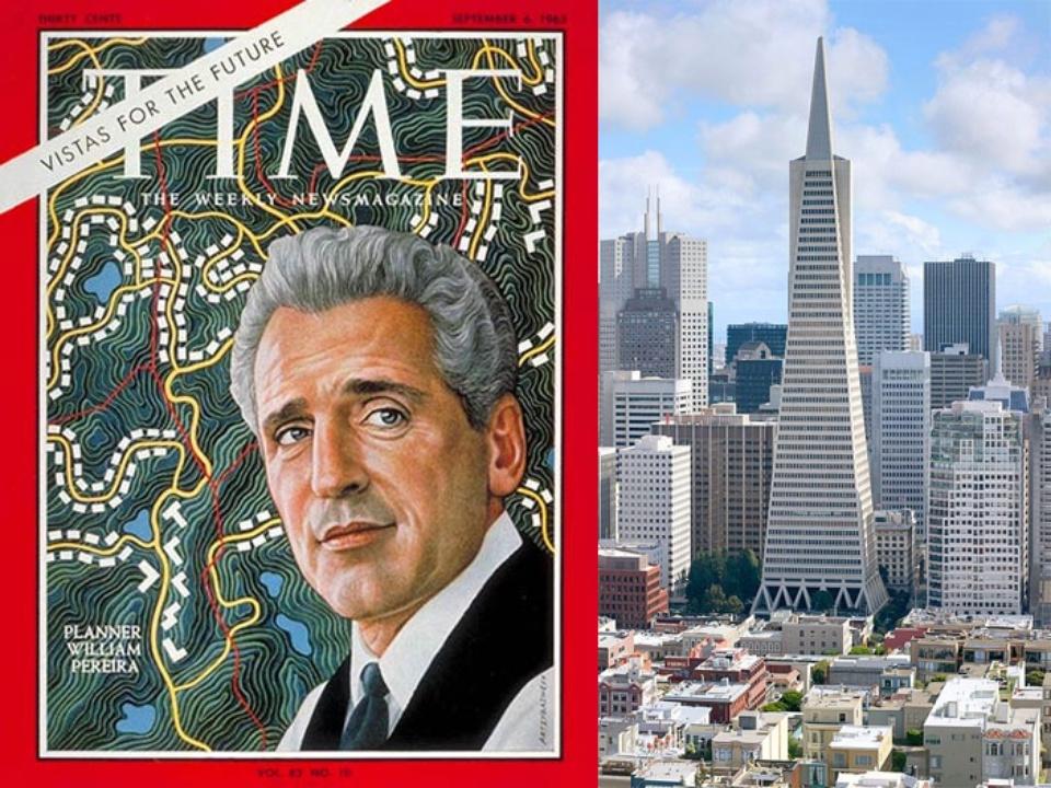 Architect William Pereira, Tower Pyramid, Time magazine