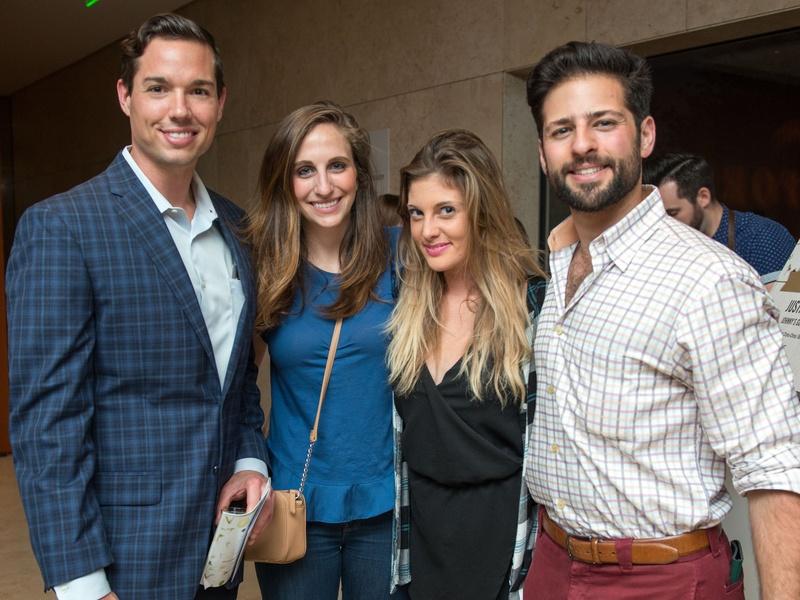 Houston, CultureMap Tastemakers, April 2017, Jordan Strauss, Kirby Cohen, Sidney Giguere, Zach Casler
