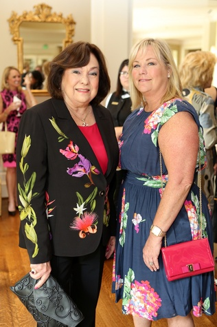 Rose Cullen, left, and Kathy McClure at the St. Luke's Friends of Nursing luncheon March 2015