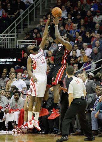 LeBron James Harden Rockets