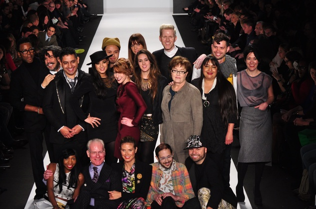 Project Runway, cast, Mercedes-Benz Fashion Week, February 2013