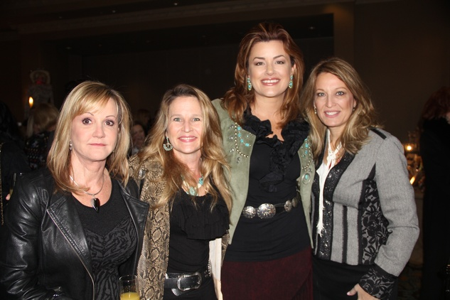 2 Bobbette Rhoades, from left, Katherine Stinson, Miranda Sevcik and Belinda Rowell at the Rodeo Trailblazer Awards Luncheon February 2015