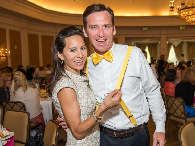 0084 Claudine and David Hartland at the Spring Chick luncheon April 2015