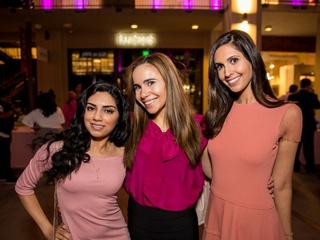 Houston, Marcy, West Ave Pink Party, October 2017, Sophia Baloch, Allison Martir, Anjali Mukhi