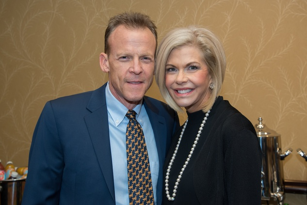 12 Tom and Julie Goudie at The Council Fall Luncheon November 2014