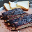 Ribs at Schmidt Family Barbecue in Bee Cave