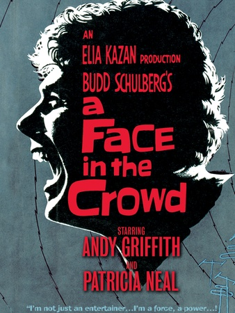 A Face in the Crowd, movie poster, 1957