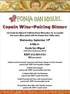 Five-Course Copain Wine-Pairing Dinner - Event -CultureMap Austin