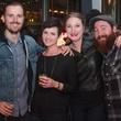 Woodford Reserve Movember Event at Kunst Gallery Zane Grant Erin Shorts Ashley Gregg Ross Bennett