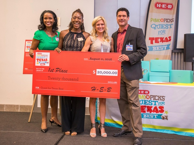 H-E-B Texas Best KITCHUN - Winell Herron, Keesha Waits & Gloriana Koll, Reade Ahrens