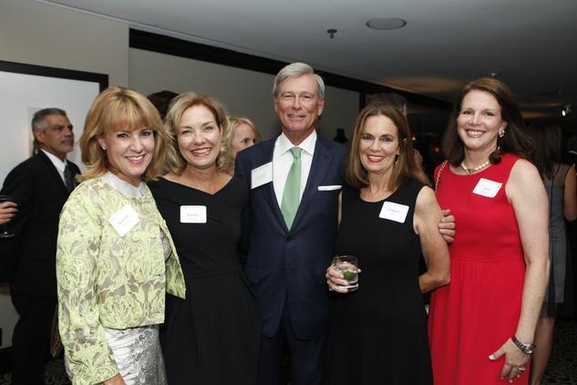 11 Karen Linville, from left, Penny Layne, Jack Linville, Ginger Hite and Julie Payne at the Health Museum Gala September 2014