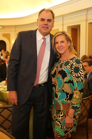 6 Chris and Dawn Krieg at the The Center Luncheon February 2015