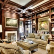 Houston, most expensive homes, 1722 River Oaks Blvd., January 2013, study