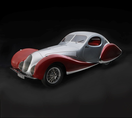 Sculpted in Steel, T150CSS Teardrop Coupe