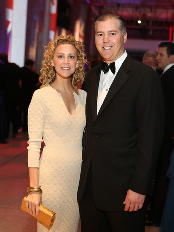 Courtney and Jason Fertitta at the Museum of Natural Science Gala March 2014