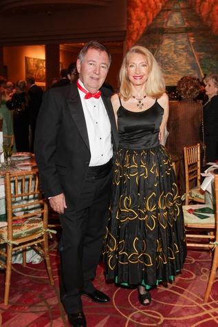 Alain LeNotre, Marie LeNotre, Moores School gala, March 2014