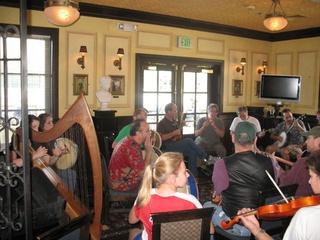 Irish music at Trinity Hall