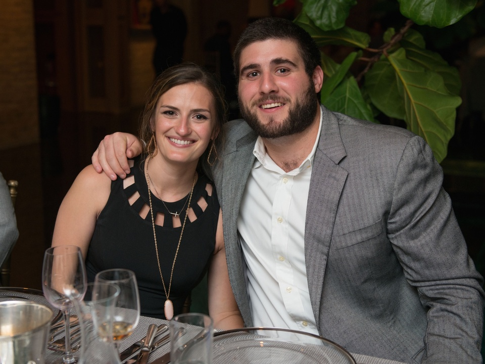 Abby Barnett, Mason Lytal at Recipe for Success dinner