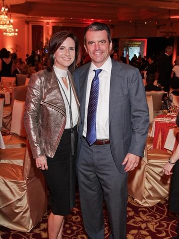 Dolly and Jeff Thomas at the Medical Bridges gala October 2013
