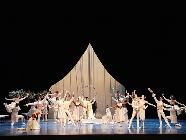 Houston Ballet A Midsummer Night's Dream September 2014 artists of Hamburg Ballet Artists of Hamburg Ballet