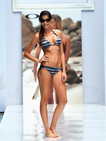 Mercedes-Benz Fashion Week 2014 swim in Miami July 2013 Oakley