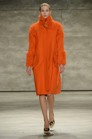 Look from Son Jung Wan fall 2015 collection