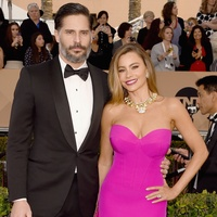 Joe Manganiello and Sofia Vergara at the Screen Actors Guild Awards