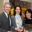 Sanford and Susie Criner, from left, with Ellen Susman at the MFAH Contemporary party January 2014