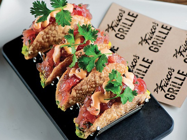 Del Frisco's Grille, ahi tuna tacos