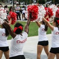 University of Houston cheerleaders Sept 2014