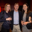 Mandi Kimball, from left, James Holtz and  Nadine Cheung at Churrascos' grand opening event February 2014