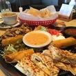 Marene El Real Tex-Mex Cafe chips queso quesadillas nachos