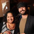12 Jayeesha Dutta and Nick Moser at the CounterCurrent Kickoff Party March 2015