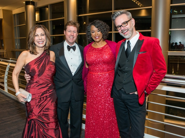 Red Cross Ball, Feb. 2016, Mary Jane Mudd, Chris Mudd, Deborah Duncan, Michael Pearce