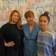 Julie Cushman, Elisa Kosonen, and Adele Tetangco at Garmentory party at Saint Cloud