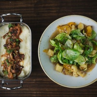 Wayward Sons, grits and Brussels sprouts
