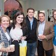 Rae Lynn Fontana, from left, Alexa Fontana, Robby Fontana, Larry Fontana and Lauren Rizzoli at the Kendra Scott opening in The Woodlands April 2014