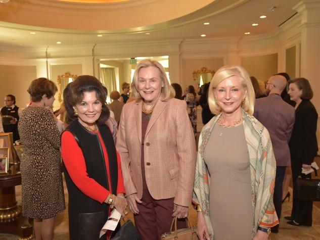 Assistance League luncheon, Linda McReynolds, Ann Duncan, Ann Bookout
