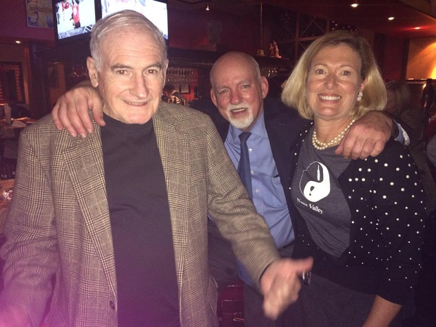 Richard Murray, Bill Sadler and Deborah Hartmann
