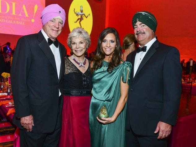 31 Bob and Janice McNair, from left, with Hannah and Cal McNair at the MFAH Grand Gala Ball October 2013
