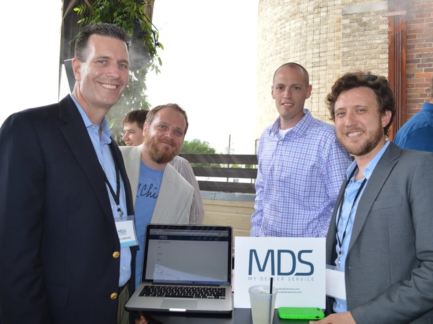 My Dealer Service team at Tech Wildcatters Pitch Day 2014