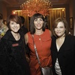 Leigh Ott, from left, Liz Ambriz and Abbe Maltz at the Go Red For Women luncheon May 2014