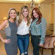 Andrea Karow, from left, Brooke Gibson and Melissa Rosenberg at the Decorative Center Houston Fall Market October 2014