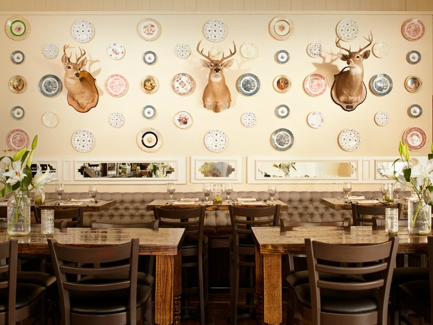 Dining room at Sissy's Southern Kitchen & Bar in Dallas