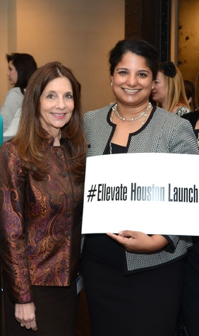 4 Luanne Jones, left, and Mariam Jacob at the Ellevate launch March 2015